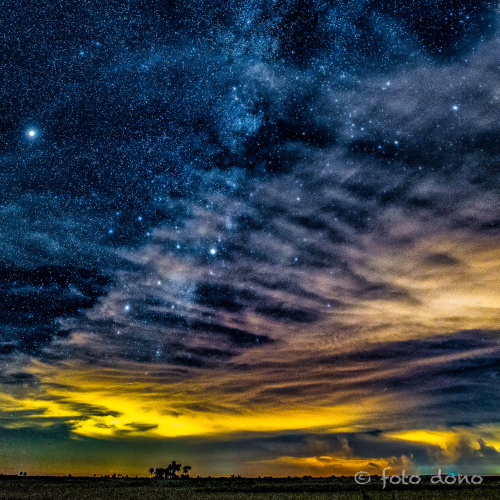Milky Way over Kissimmee Praire
