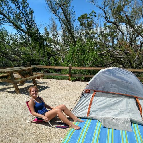 Jorja's 1st camping trip