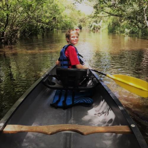 I can row a boat, canoe?