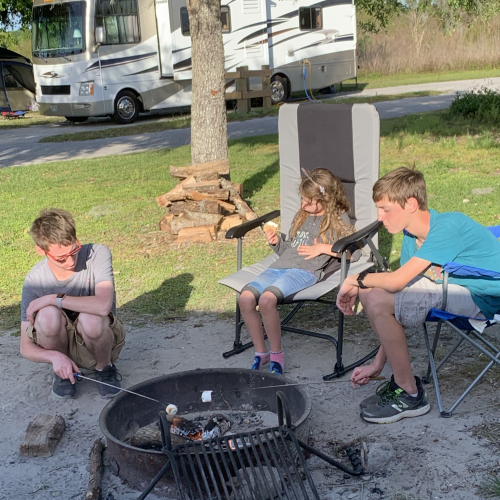 Camping with Grandchildren