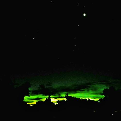 Green Flash at Sunrise
