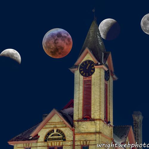 Super Blood Wolf Moon. Uxbridge ON