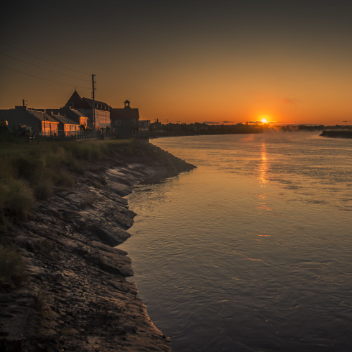 Sunrise on the Petitcodiac River