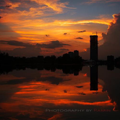 Dow's Lake at dusk