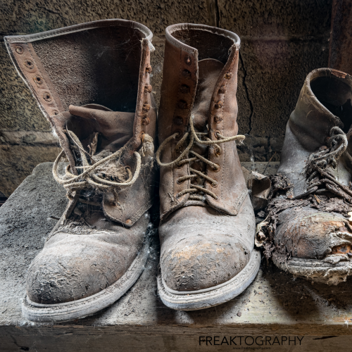 Abandoned Factory Work Boots