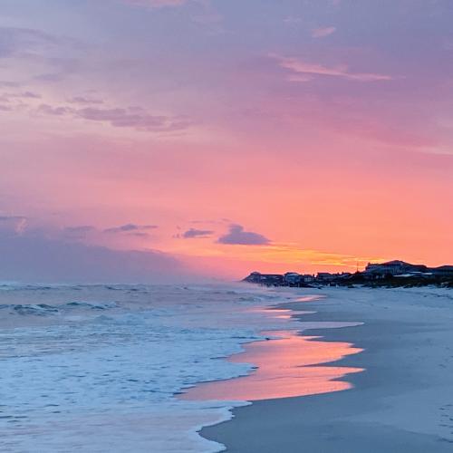Sunset on Grayton Beach