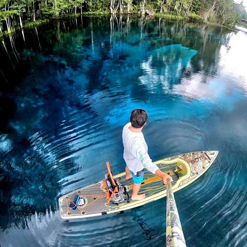 Silver Springs paddling