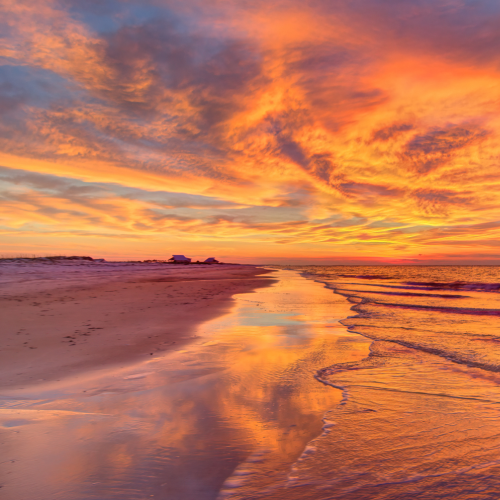 St Georges Island Sunrise