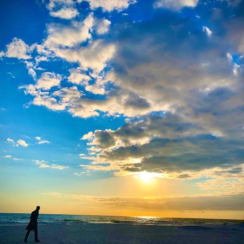 Serenity at dusk